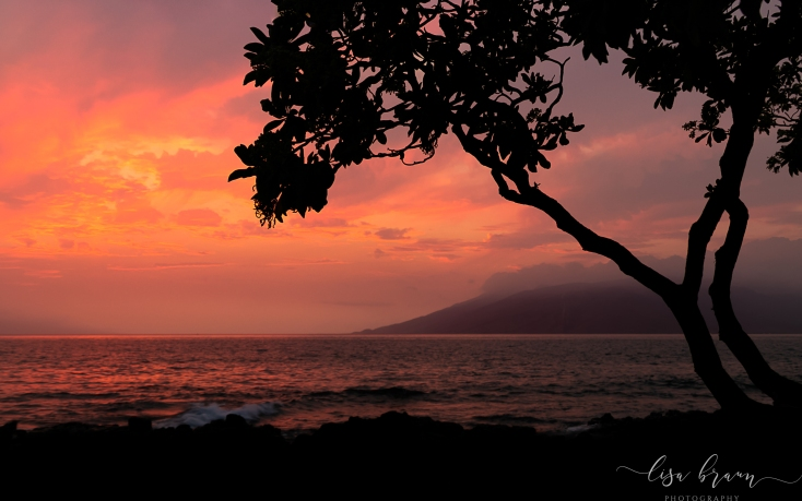 Maui Sunset- Wailea Beach