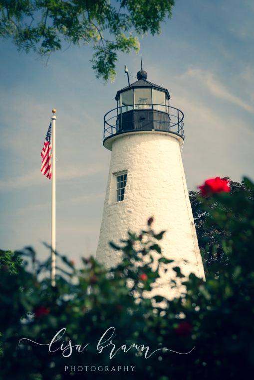 Concord Point Lighthouse in Color